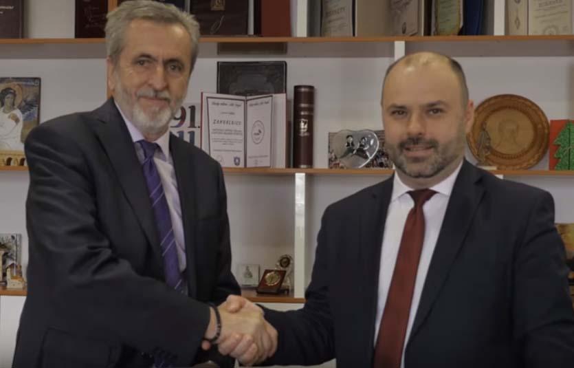 Potpisivanje Ugovora za izgradnju obaloutvrde na rijeci Rzav